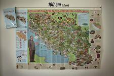 POSTER SFR Jugoslavija - Josip Broz Tito Vojvodina Srbija Kosovo Crna Gora SFRJ