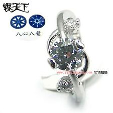 "ViVi ""H&A"" Signity Star  Ring  8421 #8"