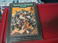 WARHAMMER 40000 RULEBOOK  1999 EDITION