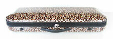 New leopard oblong violin case 4/4 size many features durable quality materials