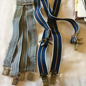 Braces (3), Belt.one Set New In Box.