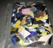 3 pounds (300 Plus pieces) Mosaic Scrap Stained Glass Smooth Edges INSTRUCTIONS