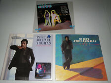 Miami Vice / Don Johnson - Heartbeat / Philip Michael Thomas (3 LP LOT)