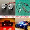 2LEDs LED Licht Set Scheinwerfer für Traxxas TRX4 SCX10 1/10 RC Auto LKW Crawler