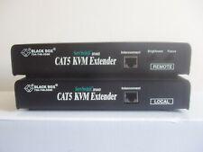 BLACK BOX ACU1009A CAT5 KVM Extender Local et à distance cases