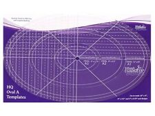 HandiQuilter Oval A Quilting Templates