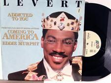 Levert ADDICTED TO YOU / Coming to America Eddie Murphy - 1988 Vinyl LP  VG+/VG+