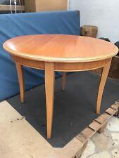 Holz-Tisch Biedermeierart, Eßtisch, zum Ausziehen, Kirschholz