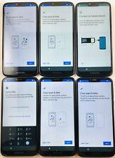 Lot of 6 Motorola G7 power XT1955-5 Metro PCS  *Check IMEI* READ