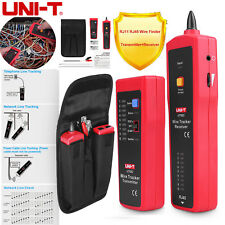 Uni-T Ut682 Network Telephone Cable Tester Rj45 Rj11 Wire Line Tracker Test Tool