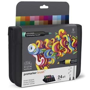 Winsor & Newton Brush Marker 24 Student Designer Collection