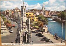 Irish Postcard SOUTH MALL Holy Trinity Church CORK City Ireland John Hinde 2/150