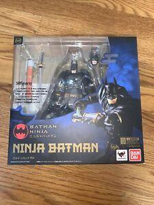 DC S.H. Figuarts Ninja Batman Action Figure (OPEN Box Condition)