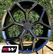 20x9 20x10 Camaro Z28 Style OE Factory Replica Wheels Matte Black Staggered Rims