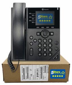 Polycom VVX 350 Business IP Phone (2200-48830-025) Brand New, 1 Year Warranty