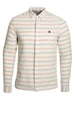 Camicie casual e maglie da uomo bianche Aderente Taglia 42