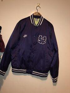 Mens Nike Jacket Nba Beaverton Oregon Rare Large Purple Coat Basketball Usa L
