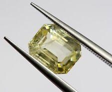 1.71 Ct Natural Sapphire Top Grade Yellow Color Sri-Lanka No Heat Loose Emerald