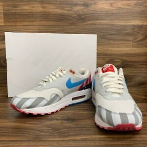 """Nike Air Max 1 """" PARRA """"Shoes Used US 9 Authentic From JAPAN"""