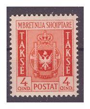 ALBANIA 1940 - SEGNATASSE QUIND  4 NUOVO **