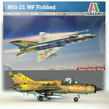ITALERI 1/48 MIG-21 MF FISHBED MARKING FOR IRAQI AND RUSSIAN FIGHTERS