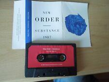NEW ORDER - Substance (1) Fact200c / Cassette Album Tape  / 1987