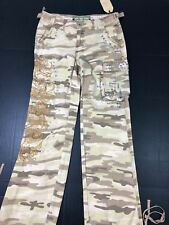 Miss Me NWT Women's Size M Jeans Cargo Pants Embellished Army Military 1008