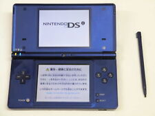 W4036 Nintendo DSi Metallic Blue Japan w/stylus pen