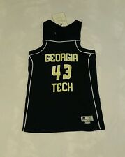 Georgia Tech Basketball Jersey Russell Athletic Medium #43
