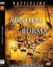 , HISTORY CHANNEL - BATTLELINE - ARNHEM & BURMA - DOCUMENTARY - DVD, Very Good,