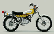 YAMAHA Poster TY80 1975 1976 1977 Trials Superb Suitable to Frame
