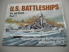 """""""U.S. BATTLESHIPS IN ACTION PART 1"""" BY STERN & GREER! COVERS EARLY WWII SHIPS!"""