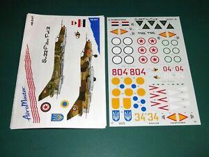 Aeromaster Decals 1/48 48247 - Su-22 Fitters Part 2