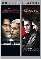 Sleepy Hollow 1999 / Sweeney Todd The Demon Barber of Fleet Street 2007 DVD