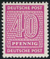 SBZ, MiNr. 136 wc X, tadellos postfrisch, Befund Schulz, Mi. 320,-
