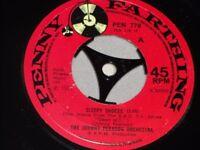 "Johnny Pearson Orchestra:   Sleepy Shores UK  1971   EX+    7"""