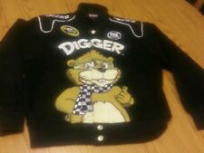 Digger fox sports nascar sprint cup series jacket racing stiched youth large