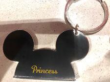 Walt Disney World Mickey Mouse Ears  Princess  Metal Keychain NEW