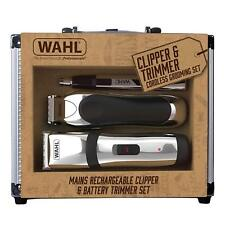 Wahl Rechargeable Cord/Cordless Hair Clipper Beard Shave Nose Ear Trimmer Set