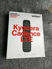 New Kyocera Cadence 4G LTE Verizon Wireless Flip Phone Prepaid ONLY Please Read