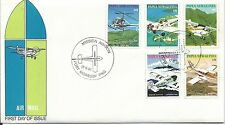 1981 Mission Aviation  set of  5 FDI Port Moresby 17.6.81 Unaddressed Cover