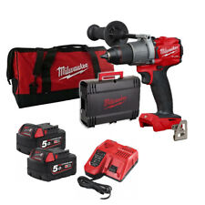 Milwaukee Fuel M18 Fdd2 502x Perceuse 18v 2 Batteries 5.0ah Sac
