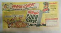Kellogg's Cereal Ad: Corn Flakes Chiquita Banana From 1949 Size: 7.5 x 15 inches