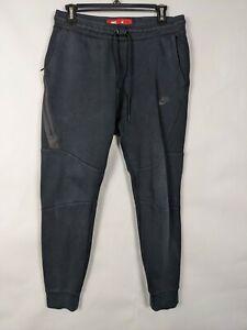 Nike Men's Tech Fleece Jogger Sweatpants Black Size M 805162-010