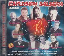 Oscar D Leon India Marc Anthony Cheo Feliciano Explosion Salsera CD New Sealed