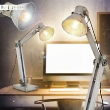 Retro Büro Schlaf Wohn Gäste Zimmer Lese Leuchte Schreib Tisch Lampen industrial