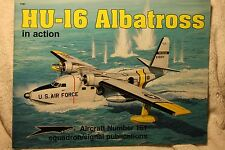 HU-16 Albatross in action Squadron Signal Book # 1161 Very Good Condition