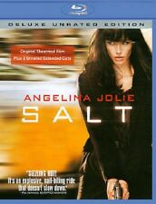 SALT NEW BLU RAY DISC MOVIE DELUXE UNRATED EDITION SPY ACTION WAR ANGELINA JOLIE