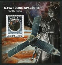 SIERRA LEONE  2016 NASA'S JUNO SPACECRAFT  SOUVENIR SHEET MINT NEVER HINGED