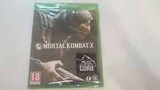 MORTAL KOMBAT X  INCLUYE GORO MICROSOFT XBOX ONE NUEVO PRECINTADO ESPAÑA